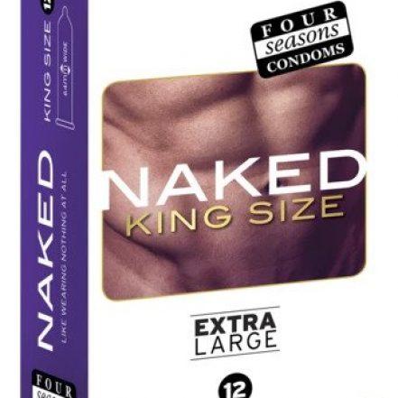 Condom Ultra Thin 12pk Naked King